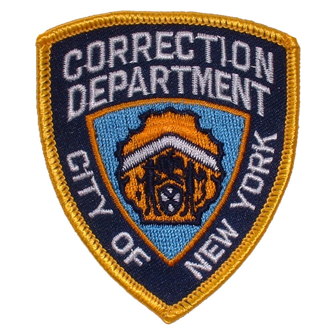 """Correction Department Of New York Patch 3"""""""