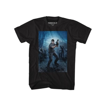 - Resident Evil Gaming Powerstance Adult Short Sleeve T Shirt