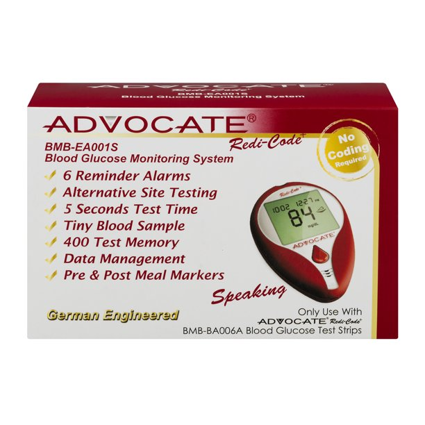 Advocate Redi-Code Blood Glucose Monitoring System, 1.0 KIT