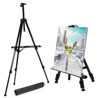 "Zimtown Art Easel Stand, 20""-63"" Adjustable Painting Floor Display Easel, with Carry Bag"