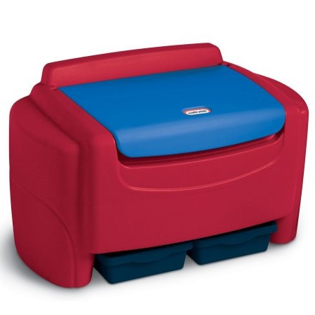 Little Tikes Sort 'n Store Toy Chest- Primary Colors by Little Tikes