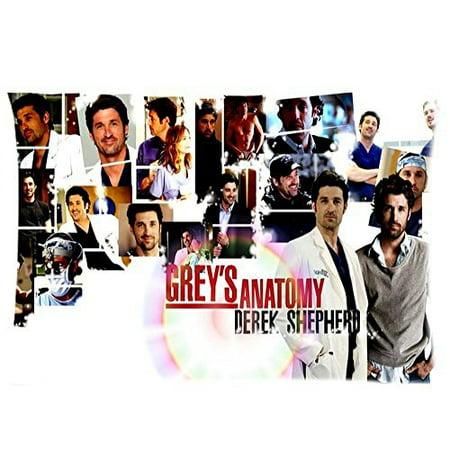 DEYOU Tv Show Grey\'S Anatomy Fans Pillowcase Pillow Case Cover Two ...