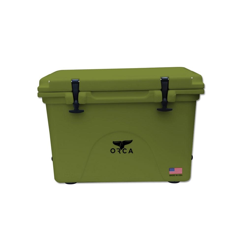 Orca Hard Sided Classic Cooler, Green, 40 Quart
