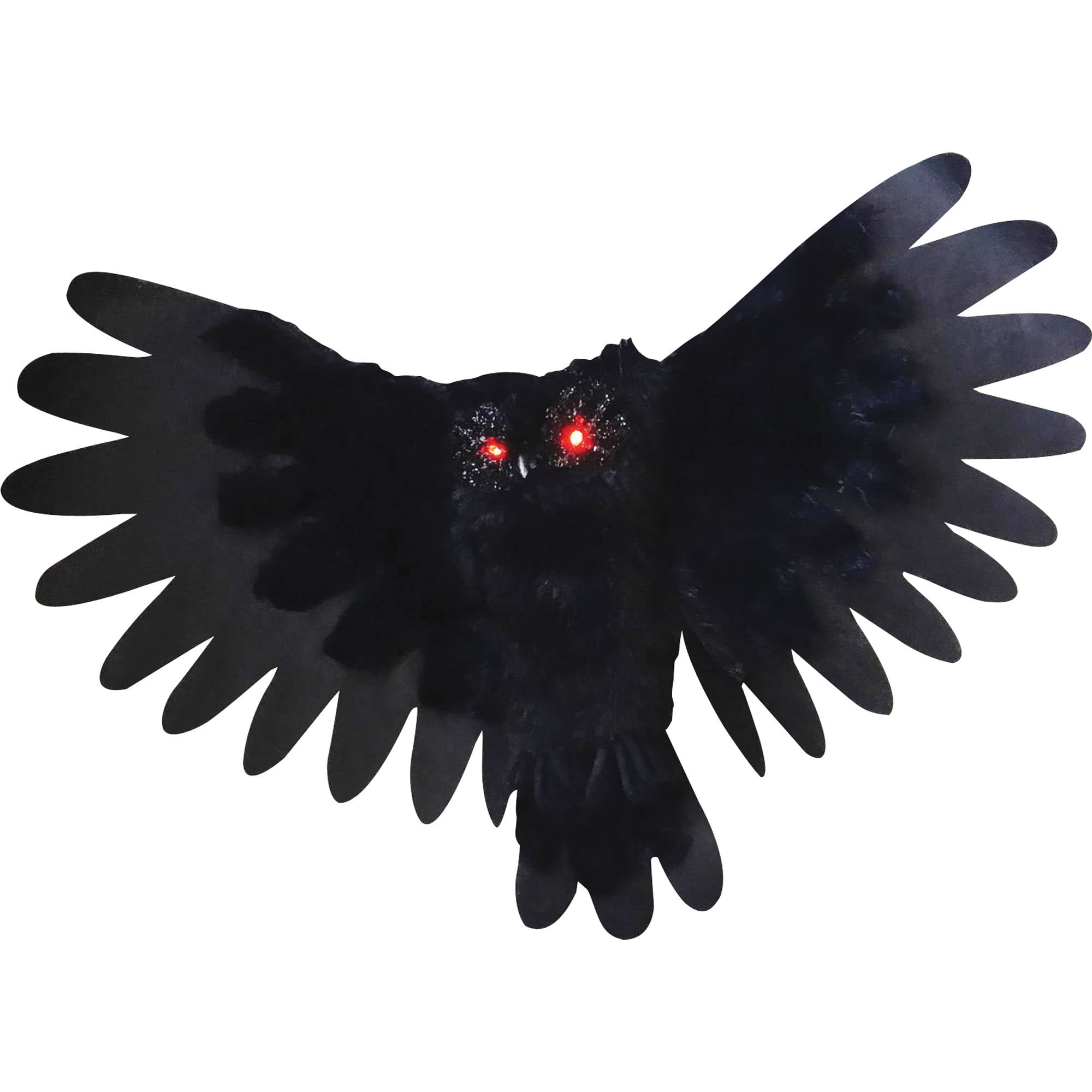 animated owl halloween decoration walmartcom - Animated Halloween Decorations