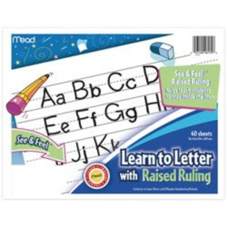 Mead Learn To Letter Writing Book Education Printed Book, Assorted