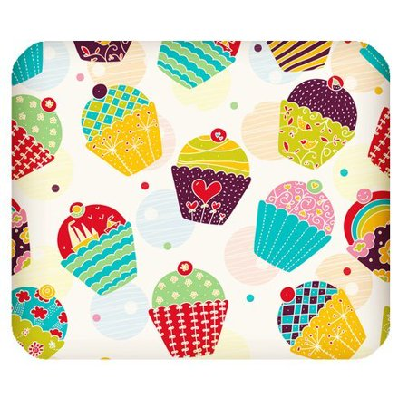 Vintage Ice (MKHERT Vintage Design Ice Cream Cakes Rectangle Mousepad Mat For Mouse Mice Size 9.84x7.87 inches )