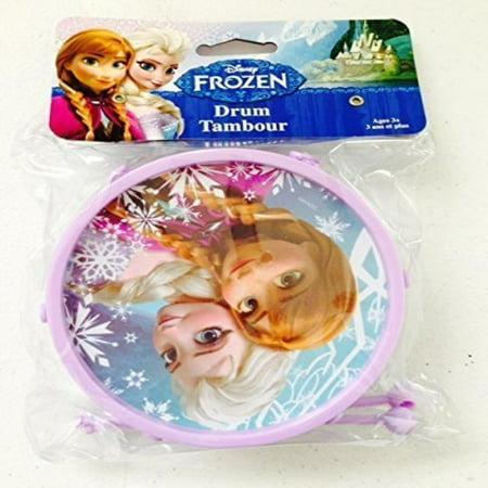 Disney Frozen Music Toy Gift for Kids - Frozen Toy Drum 2 Inches X 4.75 Inches