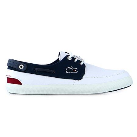 6233f753d2d Lacoste - Lacoste Sumac 216 1 Fashion Sneaker Lace Up Boat Shoe - Mens -  Walmart.com