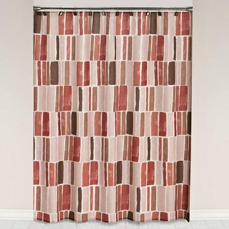 Mainstays Spice Shower Curtain and Hook Set - Walmart.com