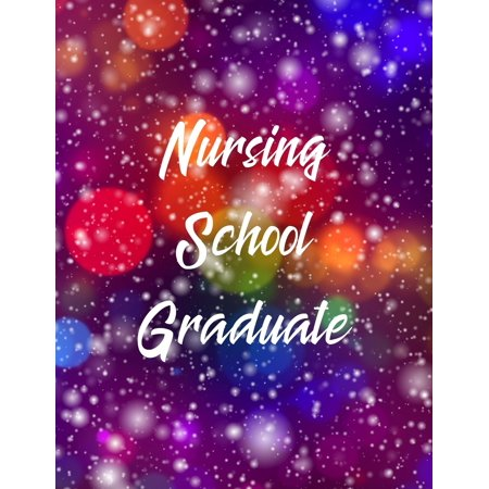 Nursing School Graduate: RN Graduation Party Open House Guest Sign in Book Paperback Graduation Open House