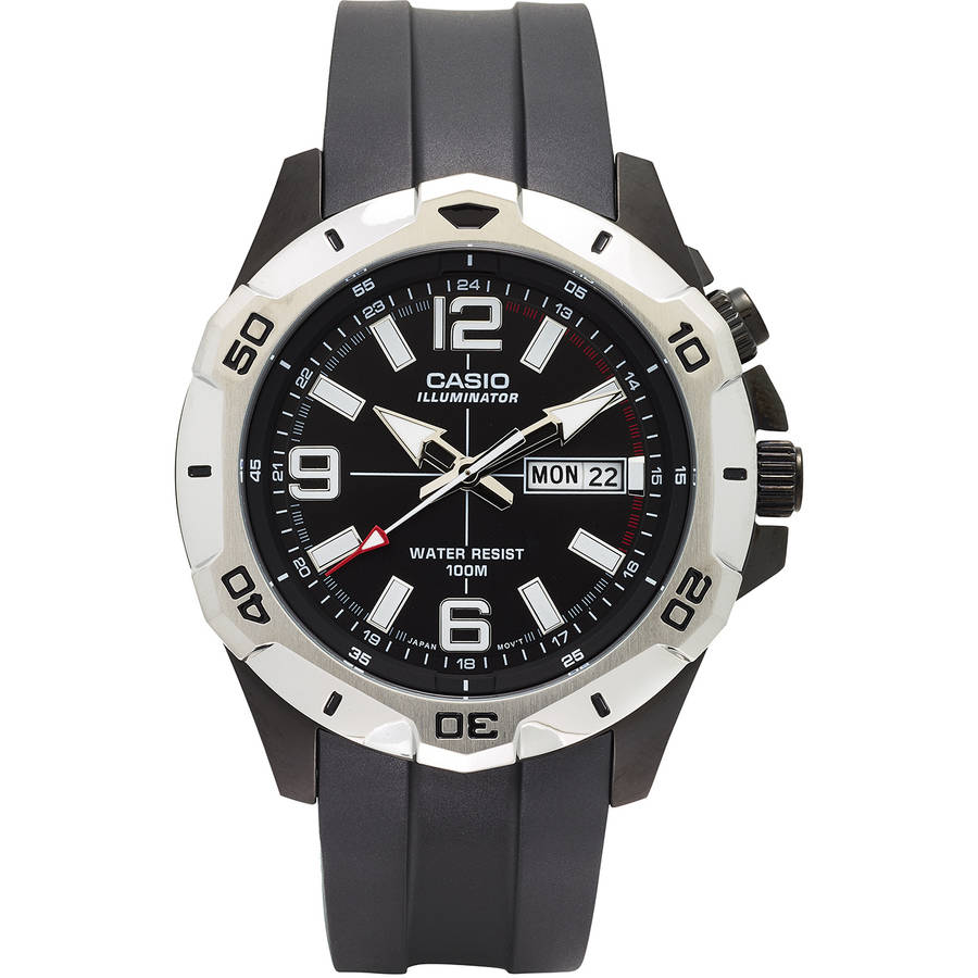 Casio Men's Dive Style Analog Watch, Black Dial, MTD1082-1AVCF