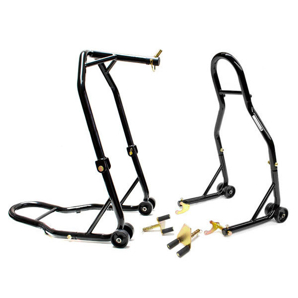 Venom Motorcycle Front+Rear Headlift Dual Lift Stand For ...