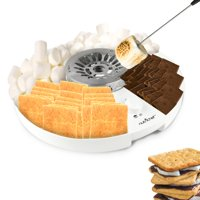 NutriChef PKSMGM26 - S'mores Maker - Electric Marshmallow Candy Melter