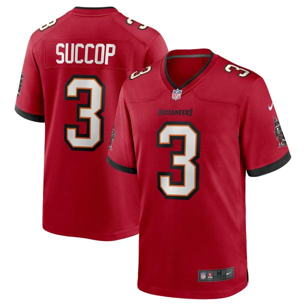Ryan Succop Tampa Bay Buccaneers Nike Team Game Jersey - Red