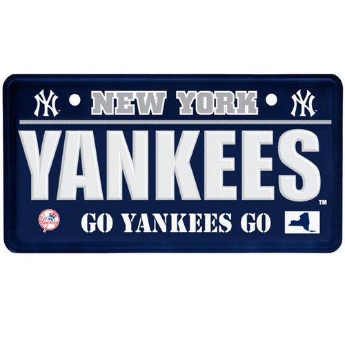 MLB - New York Yankees License Plate Sign