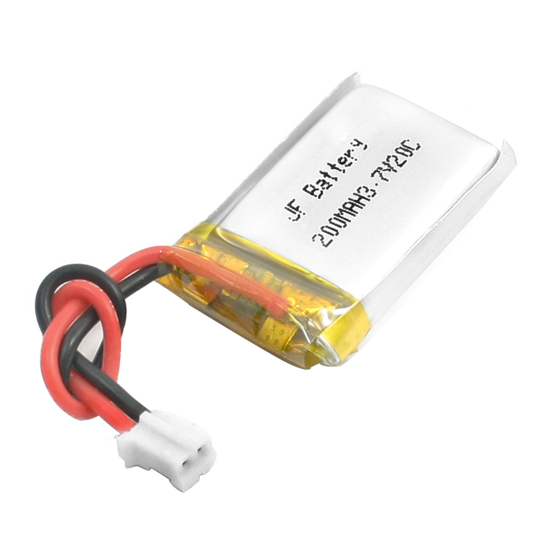 3.7V 200mAh 20C 1S 4A Li-po Rechargeable Battery PHR 2Pin Connector