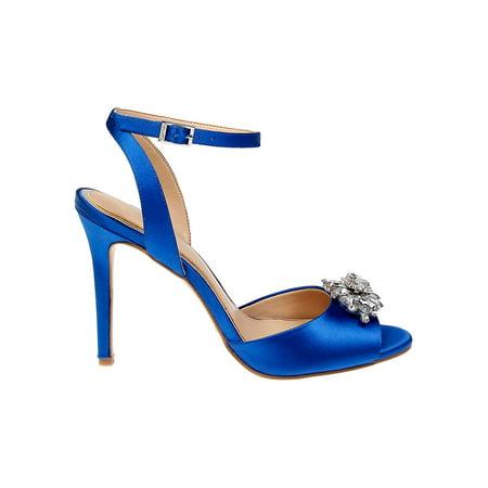 Hayden Satin Pumps Satin Prom Sandals