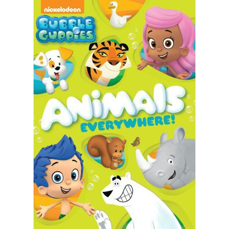 Bubble Guppies: Animals Everywhere! (DVD) - Bubble Guppies Games Halloween
