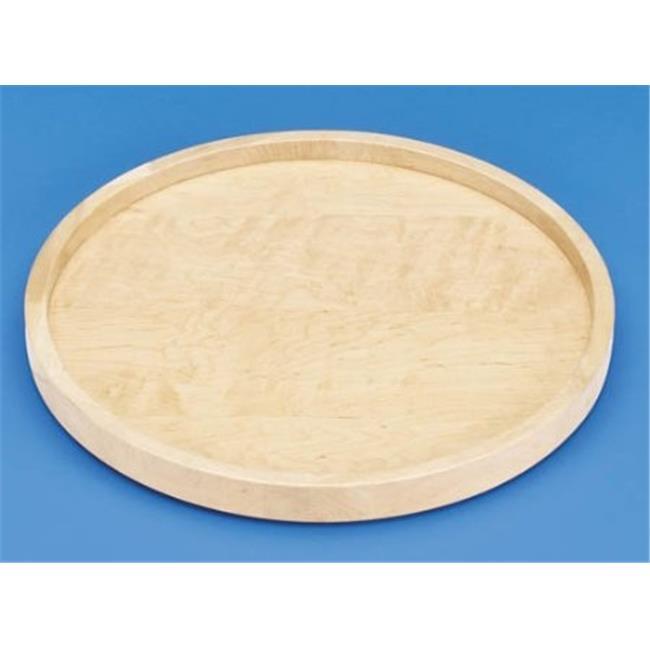 Rev A Shelf Rs4Wls001.32.B52 32 In. Full Circle Wood Classic Single Shelf - With Bearing Corner Lazy Susans