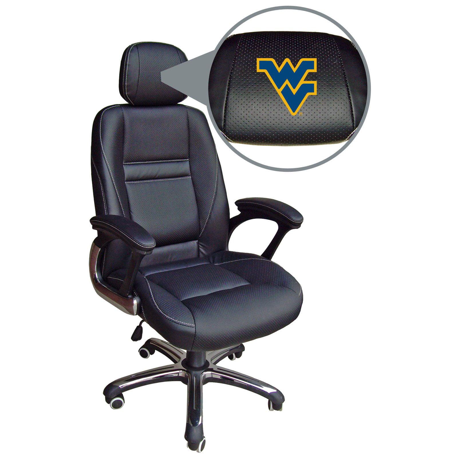 Wild Sports NCAA Leather Head Coach Office Chair