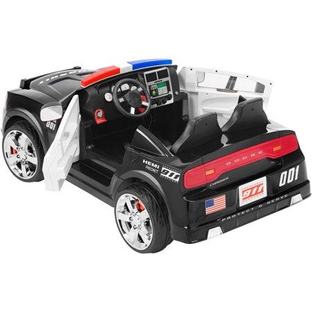 Kid Trax Dodge Pursuit Police Car 12Volt BatteryPowered RideOn