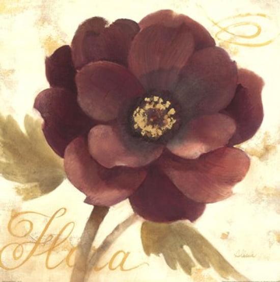 Abundant Floral I Poster Print by Albena Hristova (18 x 18)