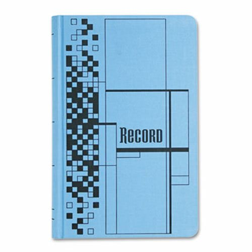 Adams Business Forms Record Ledger Book, Blue Cover, 500 Pages (ABFARB712CR5) by
