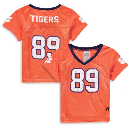 Toddler Russell Athletic Orange Clemson Tigers Replica Football Jersey Clemson Tigers Replica Football Jersey