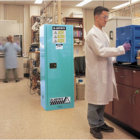 Corrosive Safety Cabinet,65 In. H,Steel JUSTRITE 892202