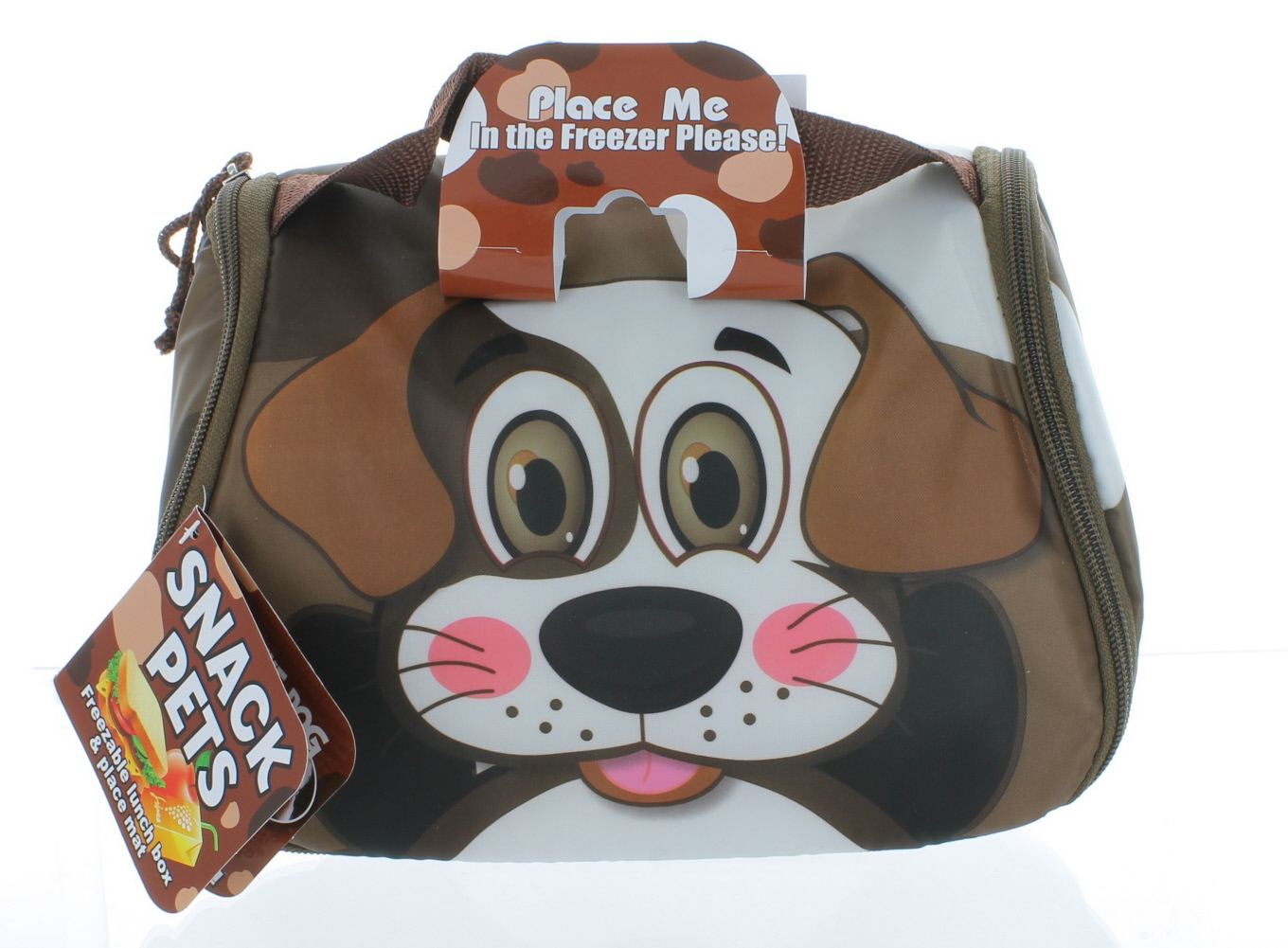 74fd61727606 As Seen On TV Snack Pets Freezable Fun Lunch Box Baxter The Dog