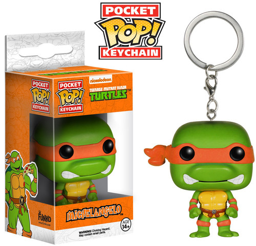 FUNKO POCKET POP! KEYCHAIN: TEENAGE MUTANT NINJA TURTLES - MICHAELANGELO