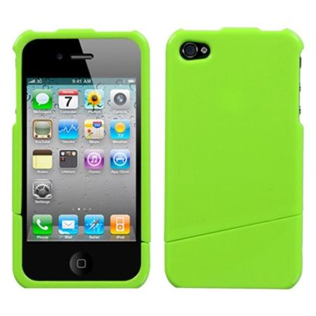 Insten Natural Pearl Green Slash Case For iPhone 4 4S