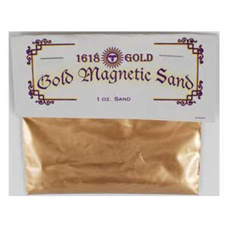 Raven Blackwood Fortune Telling Gold Magnetic Sand Lodestone Food Feed Your Offerings Success Charms Mojo Bags 1oz ()