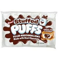 Stuffed Puffs Chocolate Filled Vanilla Marshmallows, 10 oz Bag