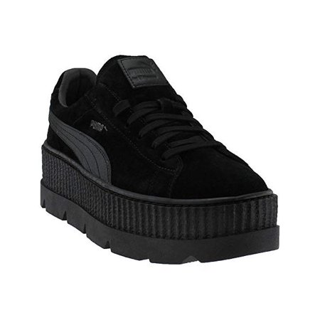 best service 6c2e7 95c62 men's suede cleated creeper sneakers