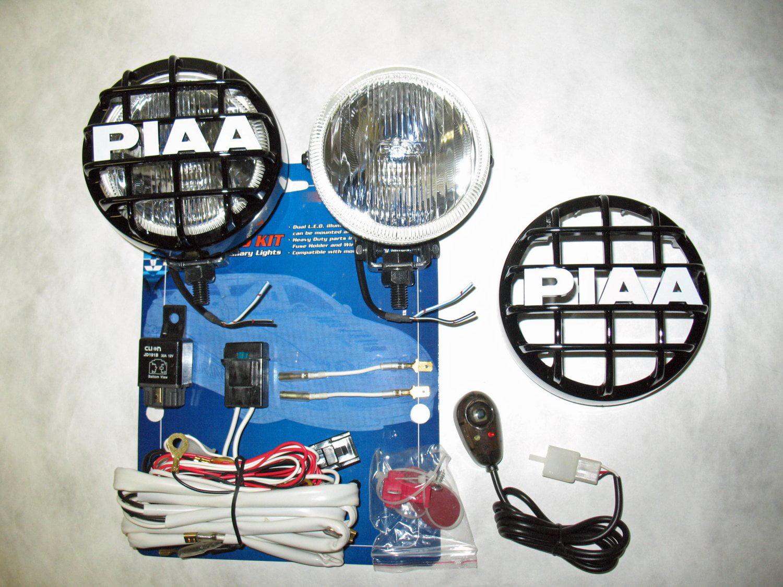 Toyota Highlander Kluger PIAA 510 Off Road Driving Lights Bar Lamp ...
