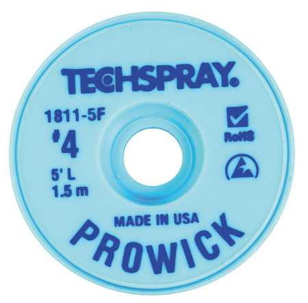 TECHSPRAY 1811-5F Pro Wick Blue #4 Braid - AS