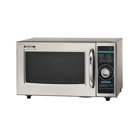Sharp Medium Duty Commercial Microwave - 1000 Watt - R21LCF
