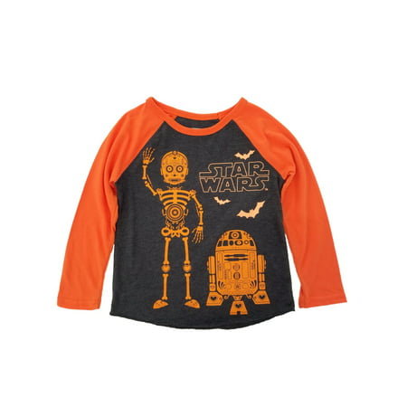 Star Wars Infant & Toddler Boys Day Of The Dead Halloween Long Sleeve Shirt