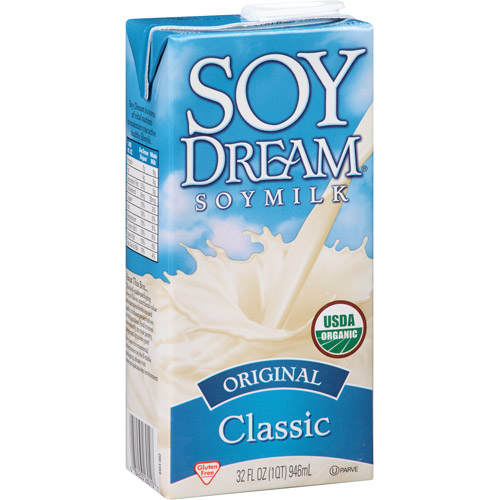 Soy Dream Classic Original Soymilk, 32 fl oz, (Pack of 12)