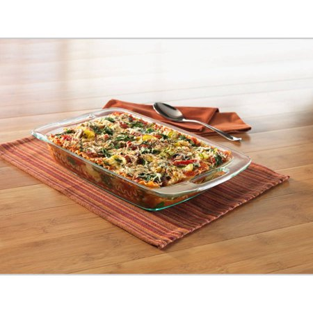 Pyrex 3 Quart Grip-Rite Oblong Baking -