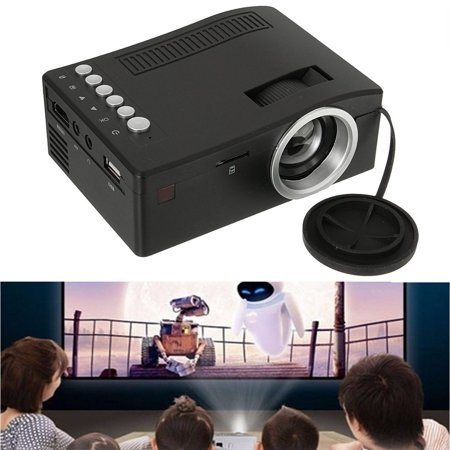 Full HD 1080P Home Theater LED Mini Multimedia Projector Cinema USB TV MT Today's Special Offer! (Led Hd Projector 1080p)