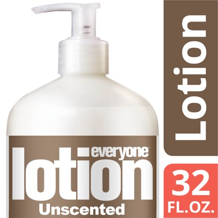 Everyone  3 In 1 Lotion  Unscented  Hands  Face  Body  All Skin Types  32 Oz