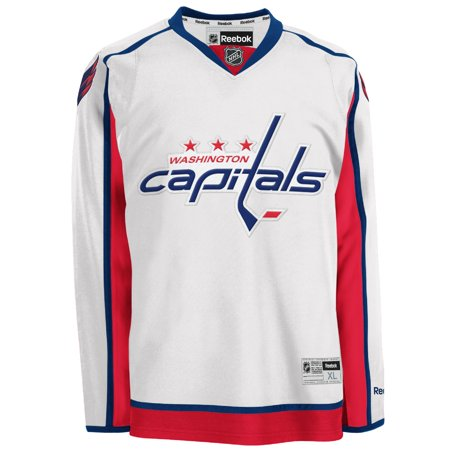 0626c4dcfa8 Washington Capitals Reebok Premier Away Jersey - White - Walmart.com