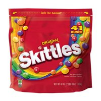 Skittles, Original Fruity Candy, Party Size Bag, 41 Oz.
