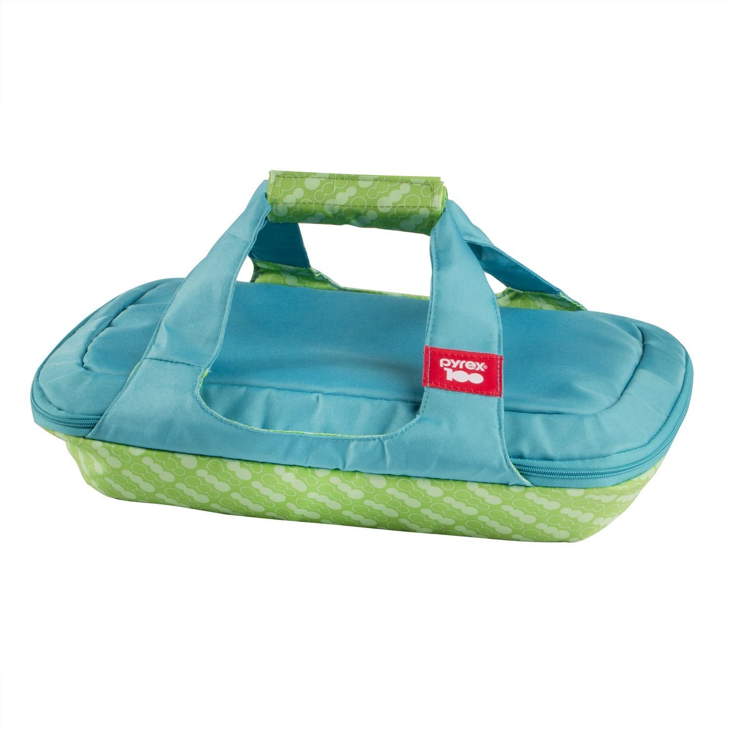 Pyrex 100 Portables 100th Anniversary 3-qt Bag, Green/Blue