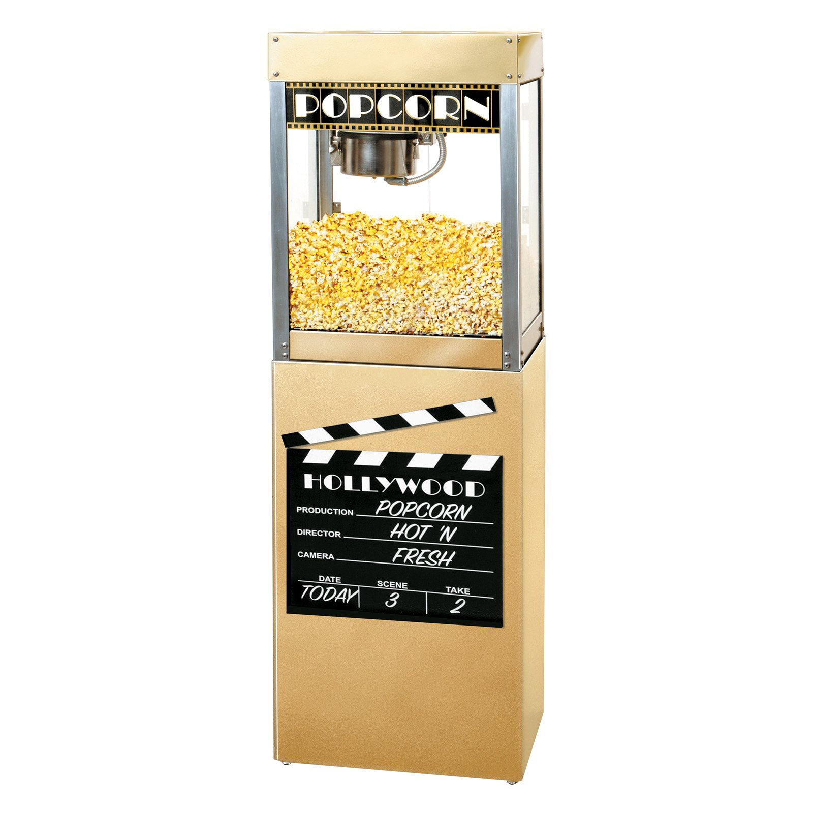 Benchmark USA Premiere Popcorn Popper with Pedestal