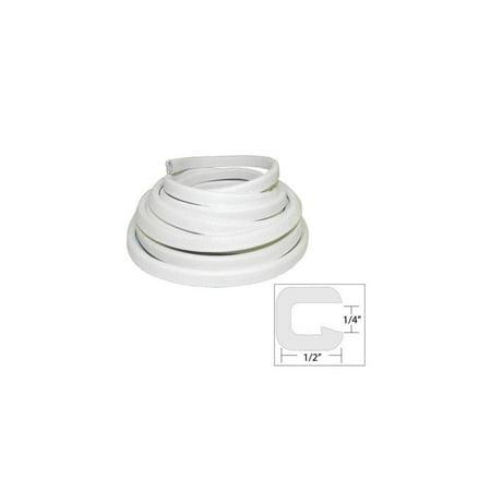 """taco metals v30-1008w25-1 / taco flexible vinyl trim - """" opening x """"w x 25"""