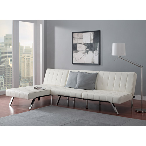 Emily Futon With Chaise Lounger Multiple Colors Com