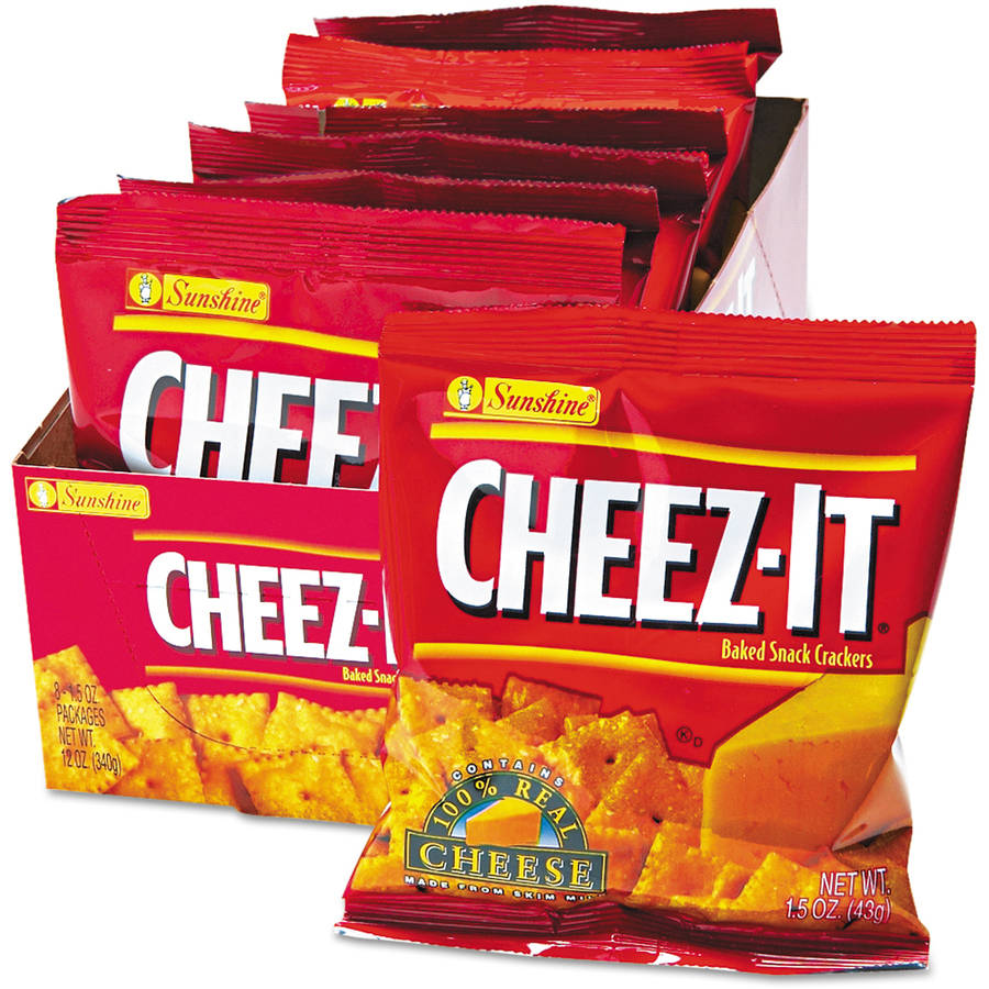 Kellogg's Sunshine Cheez-It Crackers. 8ct